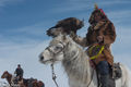 Bayan-Ölgii, Eagle, Horse, Hunting, Kazakh, Mongolia