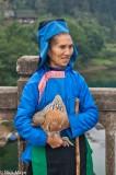 Chicken,China,Guizhou,Hat,Market,Miao