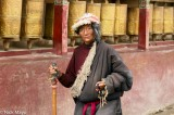 China,Hat,Prayer Beads,Prayer Wheel,Sichuan,Tibetan