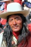 China,Festival,Hair,Hat,Sichuan,Tibetan