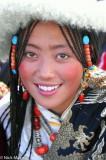 China,Festival,Hair Piece,Sichuan,Tibetan