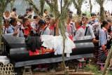 China,Coffin,Funeral,Guizhou,Hair Piece,Miao,Mourning