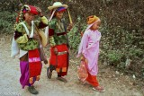 Burma,Festival,Nun,Palaung,Shan State,Turban