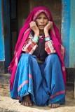 Bracelet,Head Scarf,India,Uttarakhand