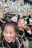 China,Festival,Guizhou,Hair Piece,Miao,Necklace