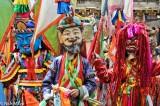 China,Festival,Hat,Mask,Monk,Sichuan,Tibetan