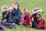 China,Festival,Hat,Sichuan,Tibetan