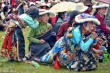 China,Festival,Hair,Hair Piece,Hat,Necklace,Sichuan,Tibetan,Waist Band