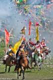 China,Festival,Horse,Prayer Flag,Sichuan,Standard,Tibetan