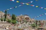 India,Jammu & Kashmir,Monastery,Prayer Flag,Stupa