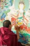 Painting A Tanka
