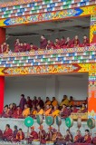 China,Drum,Festival,Monk,Sichuan,Tibetan