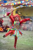 China,Dancing,Festival,Mask,Monk,Sichuan,Tibetan