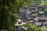China,Drum Tower,Guizhou,Roof,Village