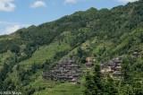 Wooden Miao Hillside Village