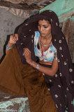 Bhil,Bracelet,Gujarat,Head Scarf,India,Necklace,Nose Stud,Tattoo