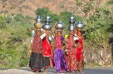 Fetching Water,Gujarat,India,Rabari