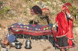 Anklet,Bangle,Bracelet,Gujarat,Head Scarf,India,Rabari