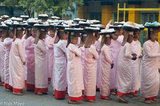 Burma,Kachin State,Mandalay Division,Nun,Pindacara