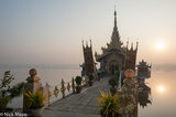 Burma,Kachin State,Mandalay Division,Shrine