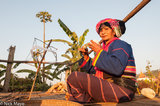 Burma,Palaung,Shan State,Spindle,Spinning,Turban,Waist Hoops