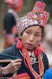 Earring,Laos,Loma,Necklace,Phongsali,Turban