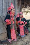 Apron,Earring,Laos,Loma,Necklace,Phongsali,Turban