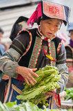 China,Market,Turban,Yi,Yunnan