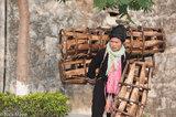 China,Hat,Market,Yao,Yunnan