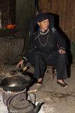 China,Cooking,Guangxi,Hearth,Necklace,Turban,Wok,Zhuang