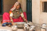 Bangle,Bracelet,Gujarat,Head Scarf,India,Necklace,Washing Up