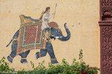 India,Mural,Rajasthan