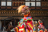 Bhutan,Dancing,East,Festival,Mask,Monk