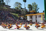 Bhutan,Dancing,Dzong,East,Festival,Monk