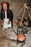 Apron, Cooking, Earring, Fish, Hat, Lai Chau, Soup, Vietnam, Yao