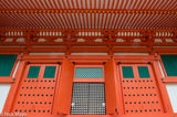 Doorway, Japan, Kinki, Pagoda