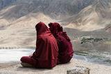 Himachal Pradesh, India, Monk, Village