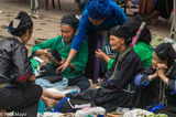 Bracelet, Ha Giang, Head Scarf, Market, Necklace, Vietnam, Zhuang