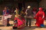 Dancing, Drum, Drumming, Festival, Nepal, Terai, Tharu