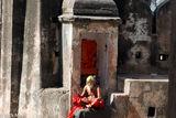 India, Madhya Pradesh, Sadhu, Shrine