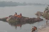Ghat, India, Madhya Pradesh, Sadhu