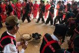 Burma, Circling, Festival, Lahu, Piping, Shan State