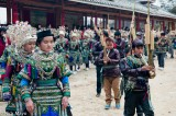 China,Circling,Festival,Guizhou,Miao,Piping