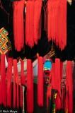 China,Hat,Market,Yunnan