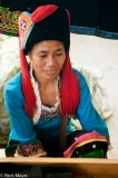 China,Hani,Hat,Yunnan