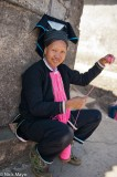 Spinning Pink Yarn
