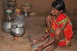 Anklet,Bracelet,Cooking,Gond,Hearth,India,Nose Stud,Orissa,Tattoo