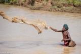Fishing,Fishing Basket,Fishing Net,India,Orissa,Turban