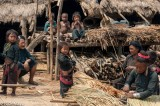 Bracelet,Burma,Earring,Eng,Preparing Thatch,Shan State