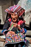 Apron,China,Earring,Lisu,Turban,Yunnan